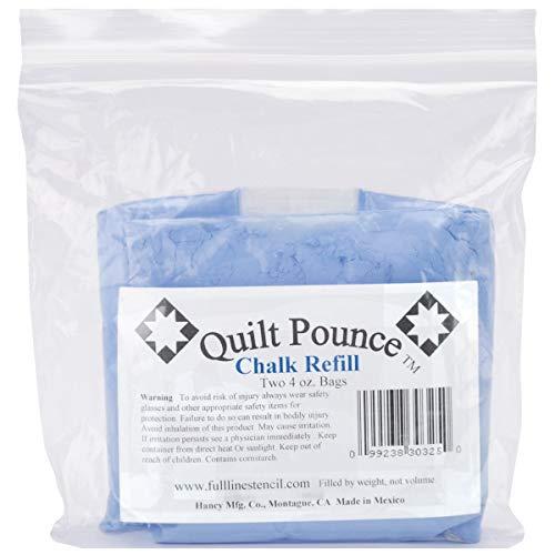 Quilt Pounce Chalk Refill 4 Ounces Blue