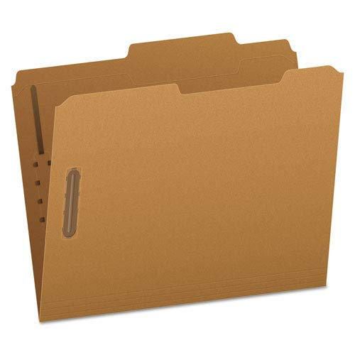 Pendaflex FK213 Kraft Fastener Folders, 2 Fasteners, 2/5 Right Tabs, Letter, 50/Box