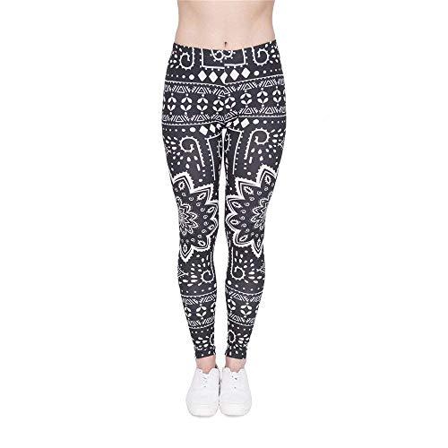Legins Print Alta Yoga Giovane Legging Moda Donna Lga46001 Pantaloni Leggings Ombre Di Mandala Qualità Tee Blue xS1gUXqf