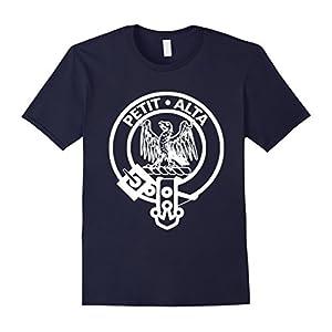 Mens Clan Abercromby T-Shirt Abercrombie Scotland Scottish Small Navy