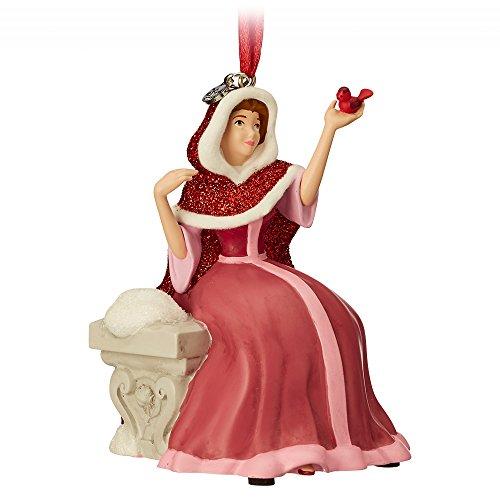 Disney Belle Singing Sketchbook Ornament - Beauty and The Beast (Bella Ornaments)
