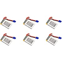 6 x Quantity of Walkera Rodeo 150 150-Z-27 Li-po Battery 7.4V 850mAh 25C 2S Power