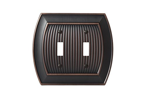 - Amerock BP36529ORB Allison 2 Toggle Wall Plate - Oil-Rubbed Bronze