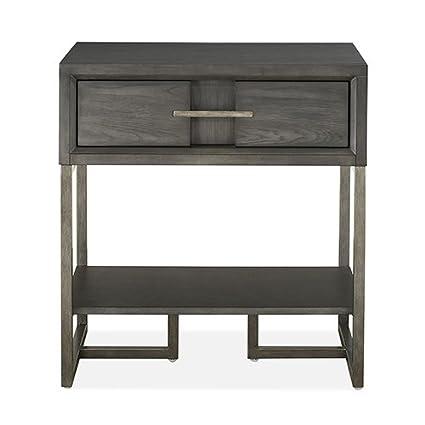 Amazon Com Magnussen Furniture Proximity Heights Open Nightstand