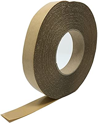"Flooring Power Tape Adhesive System - Double Sided Adhesive Tape - Cove Base/Transition Double Sided Tape - 1"" wide X 164"" long"