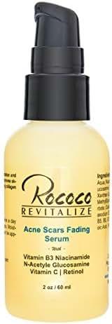 Acne Scar Removal Fading Treatment Retinol Serum Vitamin C Serum and Vitamin B3 Serum - 60ml 2oz
