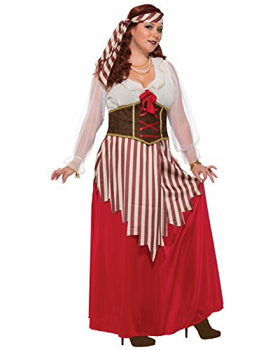 Forum Women's Pirate Wench Costume Dress, As Shown, Plus]()