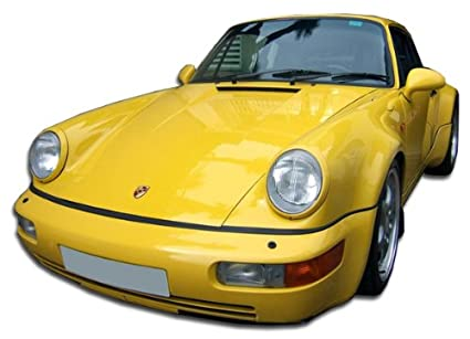 1989-1994 Porsche 964 Duraflex Turbo Look Front Bumper Cover - 1 Piece