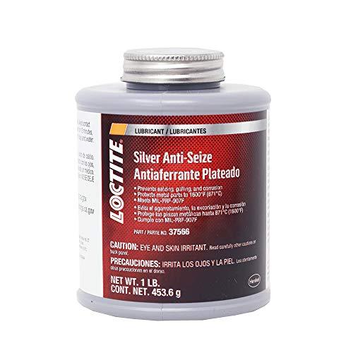 Loctite 501001 37566 Silver-Grade Anti-Seize Lubricant, 1-Pound Brushtop