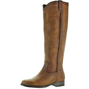 FRYE Cara Tall Women's Knee-High Riding Boots Brown Size 11