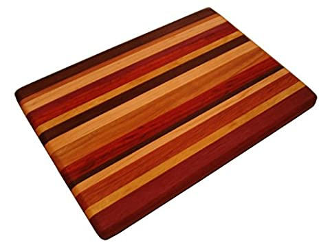Lucky Stripes Collection Small Cutting Board - Random Hardwoods