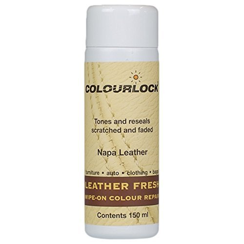 COLOURLOCK Leather Dye for Himolla Leather Furniture 5fl oz (Bianco/White)