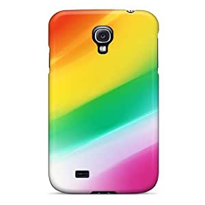 S4 Scratch-proof Protection Case Cover For Galaxy/ Hot Colorful Abstraction Phone Case