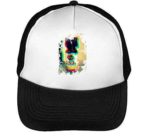 Lsd Relax Collection Nice To 4D Gorras Hombre Snapback Beisbol Negro Blanco