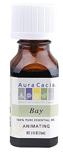 Aura Cacia Bay Essential Oils 1/2 oz (Aura Bay Leaf)