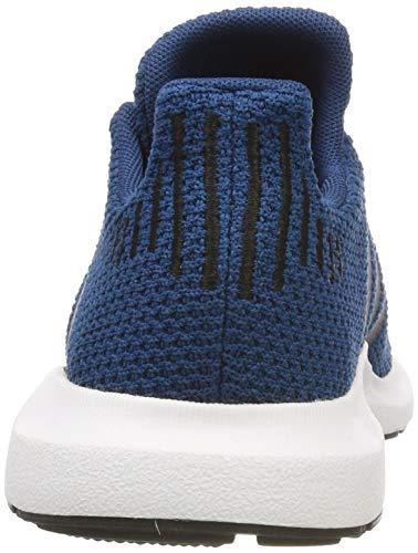 Azul Black White leggenda Run Legend Unisex De core Niños C White Gimnasia ftwr Marine Zapatillas Swift Adidas 8g6q77
