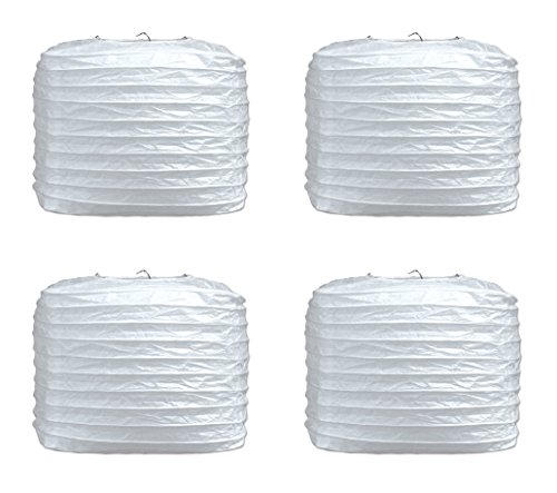 Beistle S54734WAZ2 Square Paper Lanterns 8