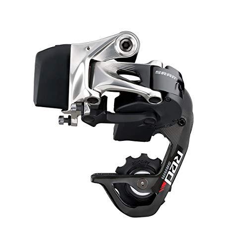 SRAM Red eTap Rear Derailleur - 11 Speed, Short Cage, Black/Silver ()