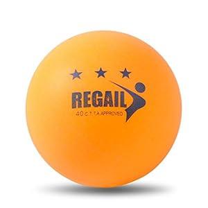 Coface 100Pcs Tischtennisball Ping Pong Ball Gelb