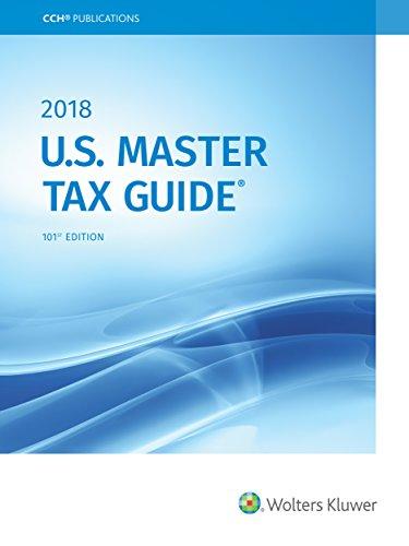 U.S. Master Tax Guide (2018) (Internal Revenue Code 2018)