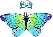 Fairy Wings for Girls,Halloween Butterfly Fairy Wings Costume for Fairy Costumes Sparkle Fairy Princess Wings