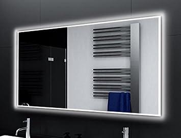 Badspiegel Designo Ma4111 Mit A Led Beleuchtung B 120 Cm X H