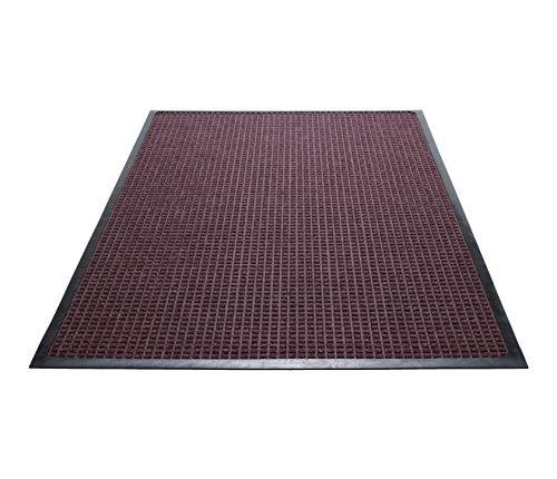 (Guardian WaterGuard Indoor/Outdoor Wiper Scraper Floor Mat, Rubber/Nylon, 2'x3',)
