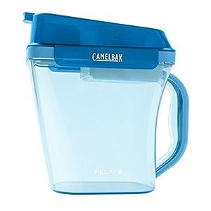 BPA-Free Tritan Double Filter Technology Pitcher in Aqua