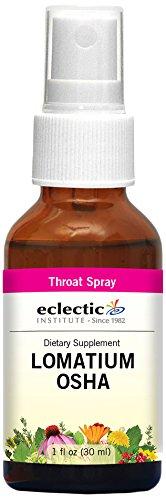 Eclectic Lomatium Osha Spray, Red, 1 Fluid Ounce