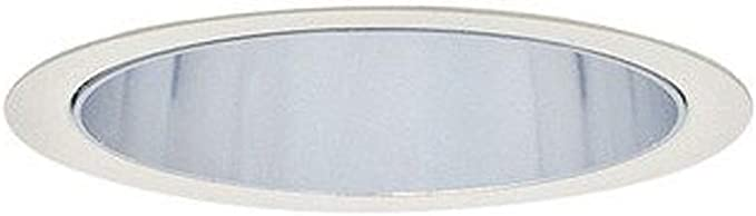 Lightolier 1013 5-Inch Down Light Cone Reflector Trim Round Clear LyteCaster