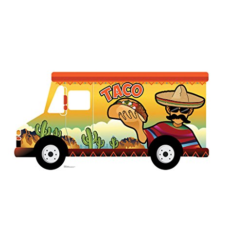 Truck Cut Out (Taco Truck Stand-In - Advanced Graphics Life Size Cardboard Standup)
