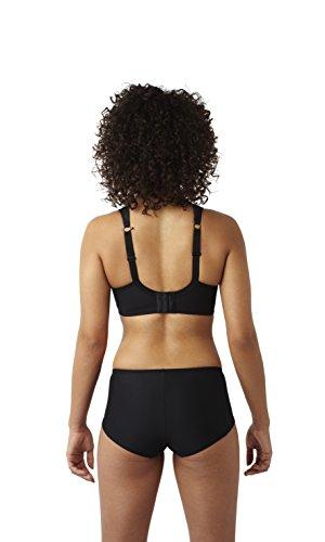 Panache Women's Plus Size Wired Sports Bra, Black, 28DD by Panache (Image #5)