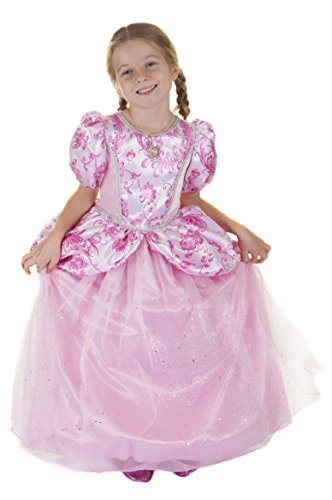 Great Pretenders Princess Costumes (Great Pretenders Dress Up Pink Princess Gown Bundle Dress up Costume, Size 5-6)