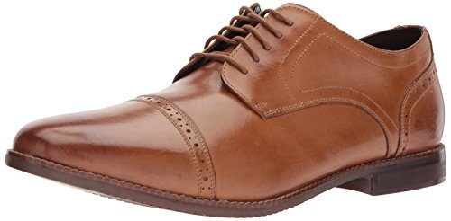 Rockport Mens Style Purpose Cap Toe Shoe  Tan  17 W Us