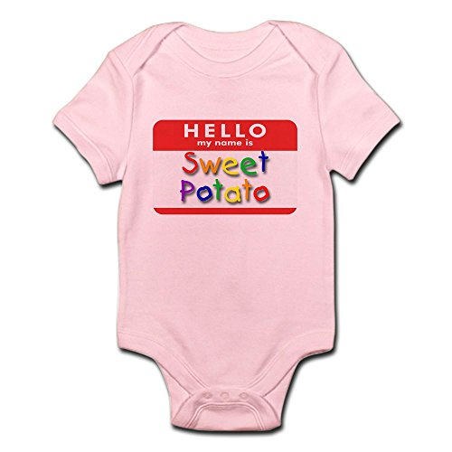 CafePress Sweet Potato Infant Creeper - Cute Infant Bodysuit Baby Romper Infant New Potatoes