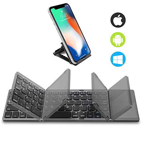 Foldable Bluetooth Keyboard with
