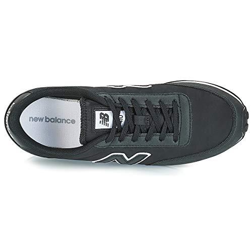 Balance Herren 410 New Sneaker Schwarz Weiss ZvO6Hw6qd