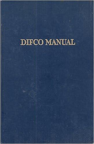 DIFCO MANUAL DOWNLOAD