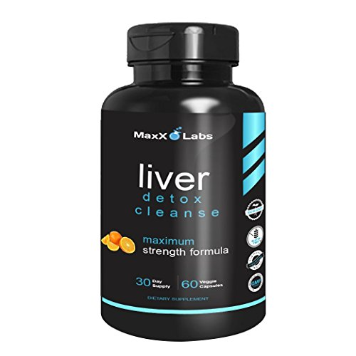 Liver Cleanse Detox Energy Formula ★ New ★ with Vitamin C, Vitamin B6, Folic Acid Plus Vitamin B12 and a Proprietary Blend of N-Acetyl-L-Cysteine, Choline, Bitrate, Inositol, and TMG - 60 Veggie Caps