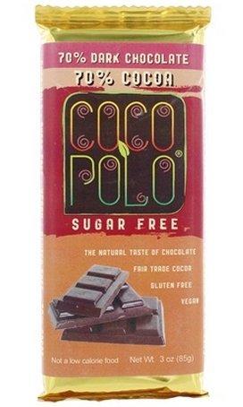 Coco Polo - Coco Polo - 70% Dark Chocolate Bar Cocoa - 3 oz.