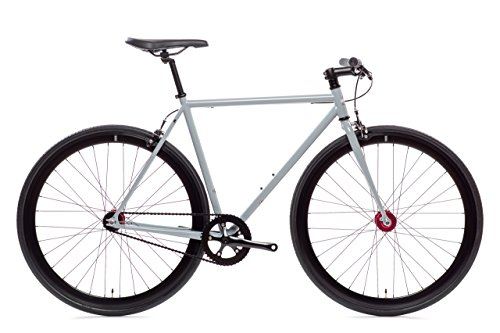 Pigeon Core-Line State Bicycle | Fixie Single Sped Fixed Gear Bike - Pigeon (Grey) Medium (54 cm)