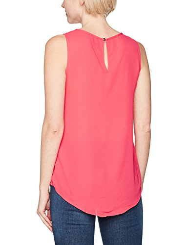 Only Onlvenice S/L Lace Top Noos Wvn, Camiseta sin Mangas para Mujer Rosa (Teaberry Teaberry)