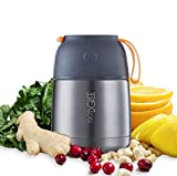 720°DGREE Food Flask wunderJar - 450ml | Stainless Steel Food Flasks for Hot Food |Thermal Soup Flask for Kids, Baby - BPA Free | Insulated Container for Lunch