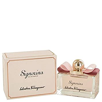8c420cd8182 Amazon.com : Signorina by Salvatore Ferragamo Eau De Parfum Spray 3.4 oz  for Women - 100% Authentic : Beauty