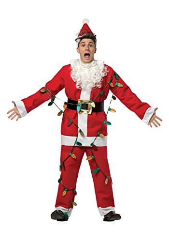 National Lampoons Christmas Vacation Costumes (Santa Suit Adult Costume - One Size)