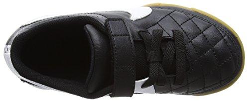 Nike Jr Tiempo V4 Ic, Botas de Fútbol Unisex Niños Negro (Black/white Black)