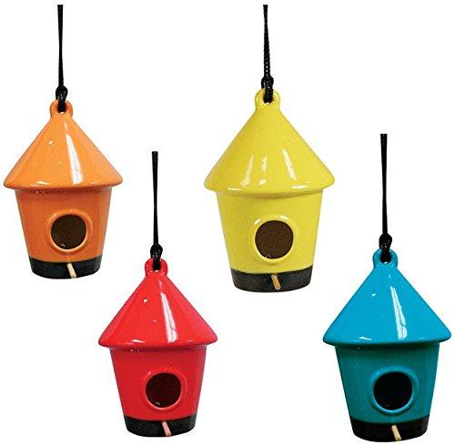 Ceramic Birdhouses - Hnging Brdhouse10