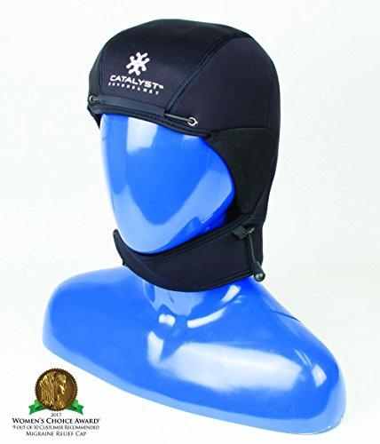 Catalyst Cryohelmet v2 Migraine Relief Cap with Adjustable Hood, Med/Lrg
