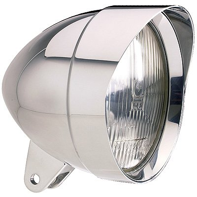 Headwinds 1-5400TWCA Tradewinds - 5-3/4 Mariah Bullet Headlight Smooth Smooth Chrome Plated for (Mariah Bullet)