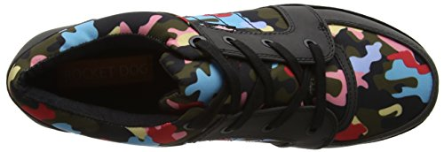 Rocket Dog Damen Reagle Low-Top Multicolour (Olive Multi)